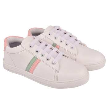 multicolor synthetic Sneakers For Women