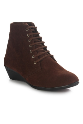 multicolor synthetic Casual Boots For women