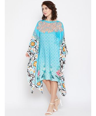 Ornamental Ponds Printed Kaftan