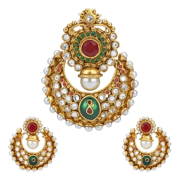 Multicolor pendant-sets