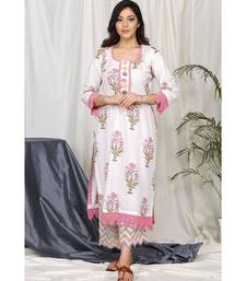 Iffat Block Set with Cutwork pants