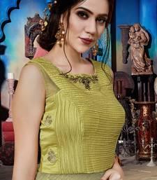 Leamon Soft Silk Khatli & Hand Work with Fancy Pattern Floor Length gown