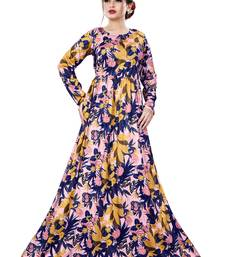 Justkartit Printed Plus Size Beach Wear Maxi Dress with Pockets for Women