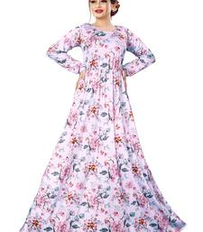 Justkartit Ladies Floral Beach Wear Long Maxi Gown Tops
