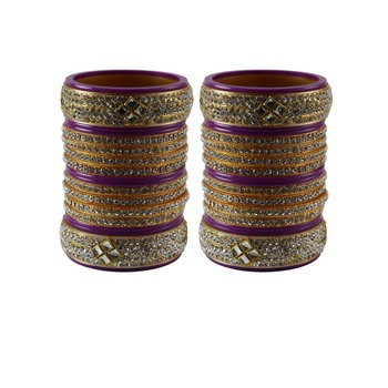 Rani Stone Stud Acrylic Bangle