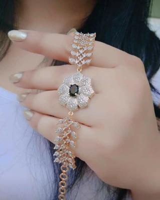 Black diamond bracelets