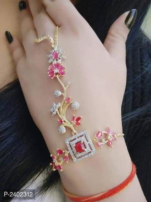 Red diamond bracelets