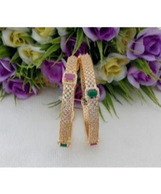 Lovely American Diamond Designer Bangle