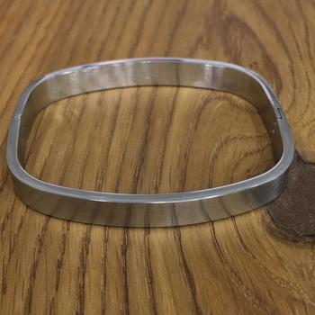 Silver Plated Classical Kada Bracelet Alloy Punjabi Sikh Style Multi Strand Unisex Bracelet Men's Jewellery