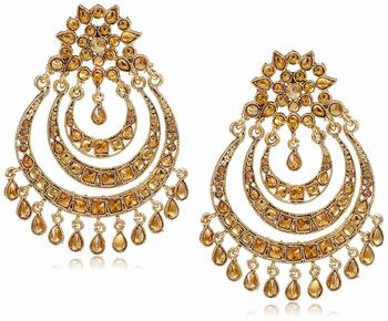 Gold Plated Designer Earrings for Women