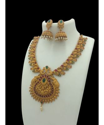 Temple Necklace Sets For Women