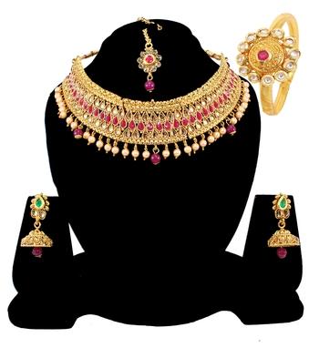 Maroon Necklaces
