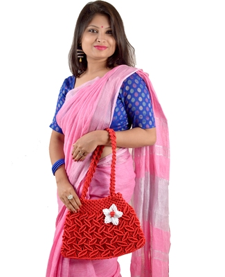 Nisuj Fashion's Handicrafted Macrame Ladies Handbags For Girls