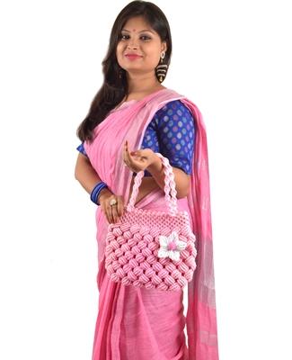 Nisuj Fashion's Handicrafted Macrame Ladies Handbags For Girls