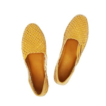Yellow Mens shoe
