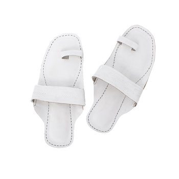 White Women sandal