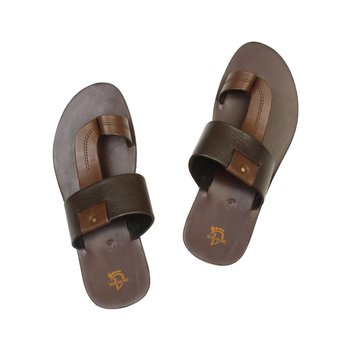 Black Brown Mens Sandals