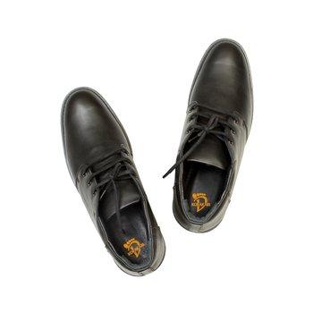 Black Brown Tan Mens Shoe