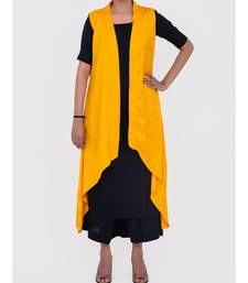 yellow rayon shrug