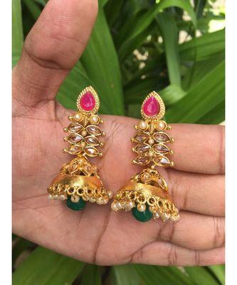 Multicolor stone Earrings
