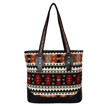 Nava Multicolor Jacquard Shoulder Bag