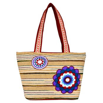 Hybrid Beige Cotton Tote Bag