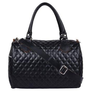 Duvet Black PU Handbag