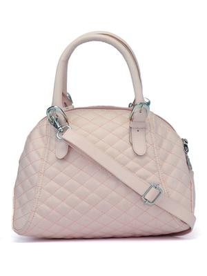 Duvet Dusty Pink PU Handbag