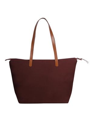 hoist maroon canvas tote bag