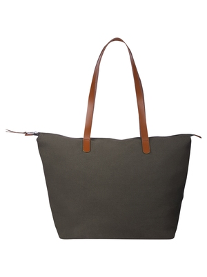 hoist grey canvas tote bag