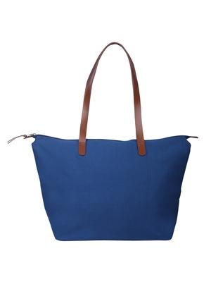 hoist royal blue canvas tote bag
