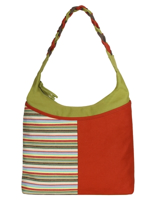 Caliber Canvas cotton Red Shoulder Bag