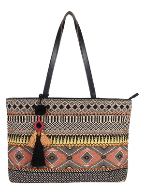 Neon Multicoloured Jacquard Shoulder bag