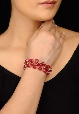 Ruby Red Garnet Bracelet