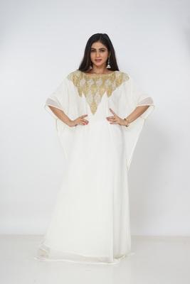 Dubai Kaftan Women Dress Long Gown Farasha Morocco Wear