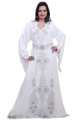 Dubai Kaftan Women Dress Moroccan Caftan Long Farasha Maxi Dress AL102