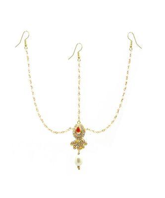 Gold Plated Maang Tikka Matha Patti For Women/Girls