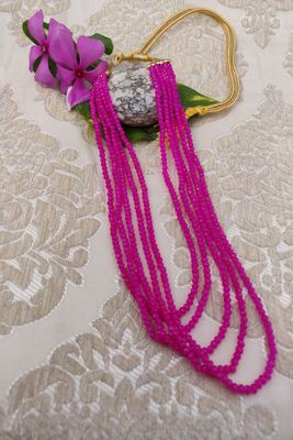 Pink ruby   necklaces