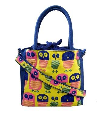 Strix Blue Canvas Sling Bag