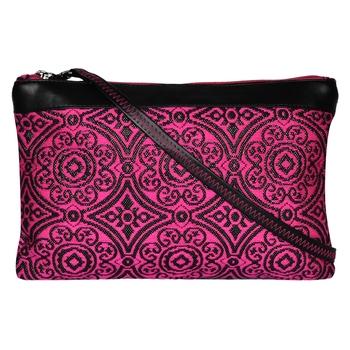 Typic Pink Jacquard Sling Bag