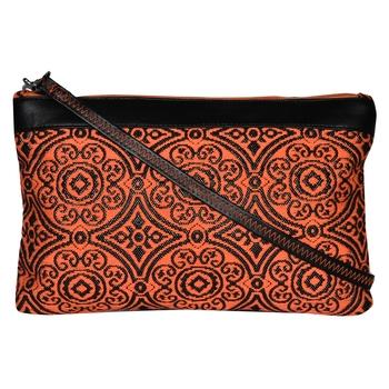 Typic Orange Jacquard Sling Bag