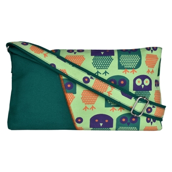 Strix Green Canvas Sling Bag