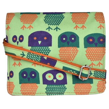 Strix Green Canvas Sling Bag