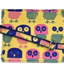Strix Yellow Canvas Sling Bag