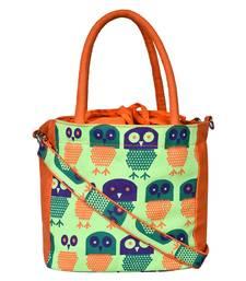 Strix Orange Canvas Sling Bag