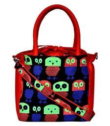 Strix Red Canvas Sling Bag