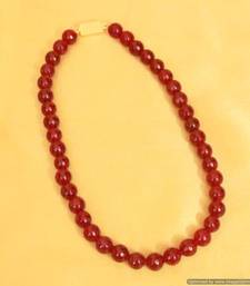 Embellished Ruby Onyx Necklace