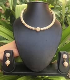 Gold Stone Necklace Sets