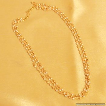 Ethinc Pearl Necklace