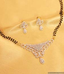 Buy Embellished Diamond Look Mangalsutra mangalsutra online